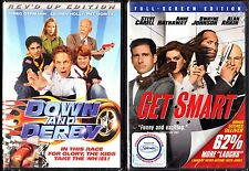 Down and Derby (DVD, 2006) & Get Smart - 2 Comedy DVDs