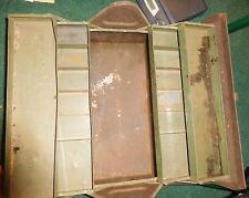 Vintage  Kennedy Kits Machinist Tool Box,tray,Van Wert Ohio,Rare variety,old