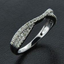 Band Ring 14K White Gold Over 0.70 Ct Round Cut Diamond Wedding