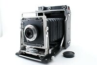 Graflex Crown Graphic 4x5 Film Camera / Linhof 90mm F6.8 [As-Is] from JAPAN #135