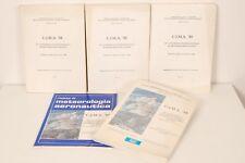 CIMA 88-20°Congresso internazionale meteorologia alpina, Sestola 1988. 5 Volumi.
