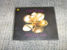 MADONNA MCD GERMANY YOU'LL SEE