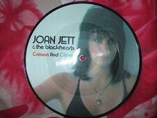 "Joan Jett & The Blackhearts Crimson And Clover EPC A 11-2485 UK 7"" Picture Disc"