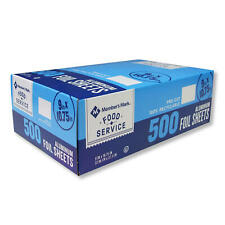 "Member's Mark Foil Sheets, 9"" x 10.75"" (500 ct.)"