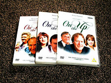 ON THE UP : THE COMPLETE SERIES 1 - 3  BBC DVD SET  - IN VGC (FREE UK P&P)