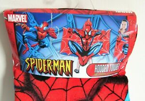 Marvel Spiderman Hooded Towel Beach Bath Poncho Superhero Kids
