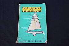 Livre technique de la radiocommande Pierre Bignon 2 edition Editions radio avion