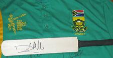 David Miller (Sth Africa)  signed mini cricket bat +COA & Photo Proof of signing