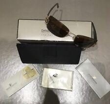 Daniel Swarovski New Vintage Rimless Sunglasses. Case, Box Etc. Rare.