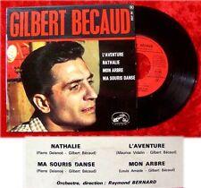 EP Gilbert Becaud L Aventure Nathalie