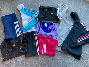 Adidas Ladies S Bundle - Top - Skirt Hoodie - Tracksuit Bottoms - Jumper - 8-10