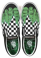 Vans x Marvel HULK CHECKERBOARD Shoes *NEW Mens Size 6-13 CHECKERS Free Shipping