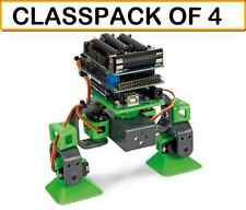 (PACK OF 4) Velleman VR204 ALLBOT 2 Legged Expandable ARDUINO PROGRAMMABLE Robot