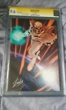 STAN LEE CGC SS 9.8 SIGNED AUTOGRAPH AUTO SOLDIER ZERO VARIANT #1 WHITE PAGES!