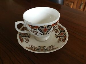 Bone China Two Piece Tea Set, Made In England By Colclough