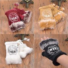1 Pair Half Finger Gloves BTS Kpop Warm Gloves Lace Up Fingerless Gloves New