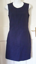 WOMENS VERSACE JEANS COUTURE PURPLE SLEEVELESS DRESS SZ:28/42 UK-8-10(WD24)