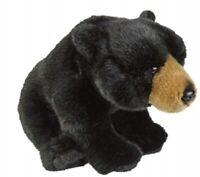 RAVENSDEN SOFT TOY BLACK BEAR 28CM - FRS004BB CUDDLY TEDDY PLUSH CUTE FLUFFY