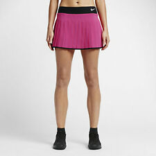 NikeCourt Victory Women's Tennis Skirt Vivid Pink Black White 728773 - 616 L