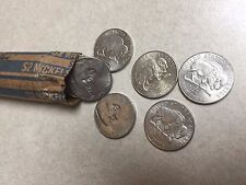 "1 roll of 2005 Jefferson nickels, Westward Journey series, ""American Bison"""