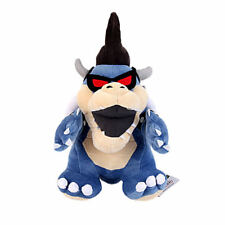 Super Mario Bros. Dark Koopa Bowser Plush Doll Stuffed Animal Toy Figure Gift US