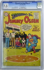 Superman's Pal JIMMY OLSEN 7 CGC 7.5 DC 1955 ONLY 1 Higher Graded