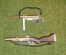 Vintage Action Man 40th Nuevo Suelto Pistola Engrasadora & lanzagranadas