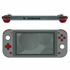 Soft Touch Scarlet Red Replacement Dpad & Face Buttons for Nintendo Switch Lite