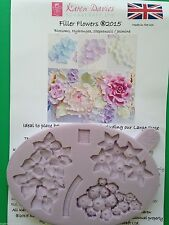 Karen Davies Filler Flowers Sugarcraft mould hydrangea jasmine FAST SHIPPING!