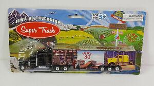 Iowa 80 Worlds Largest Truckstop Truck Tractor Trailer Semi Rare Vtg Souvenir Ad