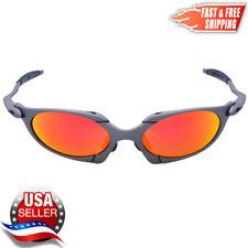 Romeo X-Metal Sunglasses Fire Iridium - Metal Frames for Oakley Lenses - Usa