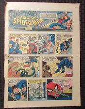 1977 Spider-Man Sunday Comic Strip 6/19/77 John Romita Vg+ vs Rattler