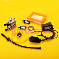 Carburetor GASKET primer bulb Tune up kit for Stihl FS120 FS200 FS250 Carb New