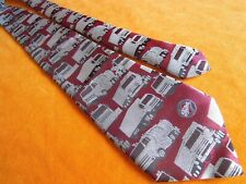 Vintage Daf Foden Truck Paccar Parts Collectible Tie