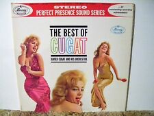 XAVIER CUGAT , THE BEST OF CUGAT, GREAT 1961 NEAR MINT, LATIN BIG BAND JAZZ