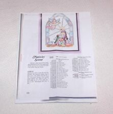 COUNTED CROSS STITCH PATTERN: NATIVITY SCENE - COLOR PICTURE INCLUDED