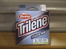 Berkley Trilene Micro Ice 3 lb test 110 yards solar Nip
