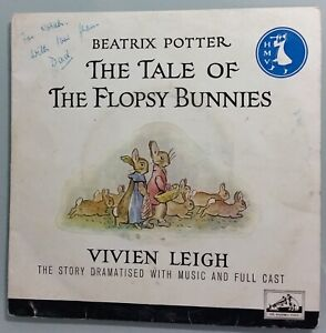 Beatrix Potter - The Tale of the Flopsy Bunnies - 45 R.P.M. Extended Play Record