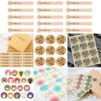 Personalised Kraft Seals Sealing Sticker Label For Wedding Favor/Envelope/Card