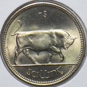 Ireland 1968 Shilling Bull animal 240259 combine shipping
