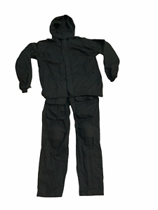 Keela Black Tactical 2 Part Zip Off Overall Coverall Paintballing Airsoft KC04A