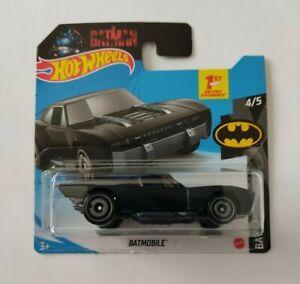 Batmobile. Hot Wheels 2021 Batman 4/5 Mattel Nuevo