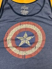 Men's XL Tank Tops Batman & Captain America