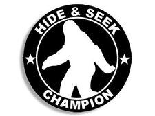 "4"" Hide & Seek Champion Helmet Laptop Car Bumper Decal Sticker Made In Usa"