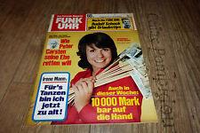 Funk Uhr Nr.5/1974 TB Ireen Sheer,Karin Dor,Raimund Harmstorf Seewolf