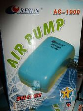 Pompe à air Resun AC-1000 NEUVE pour aquarium