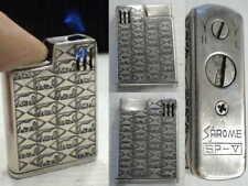 Briquet Ancien - SAROME SP-V Design - Vintage Lighter Feuerzeug Accendino