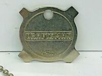 RARE STYLE Vintage  4-Way Screwdriver Craftsman/Sears Key Fob 9-4160 NOS USA