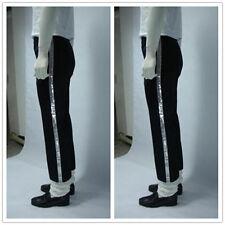 Michael Jackson Billie Jean Crystal Pants With Socks Gift Black Pants XXS-XXL