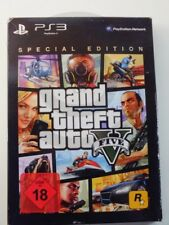 !!! PLAYSTATION PS3 SPIEL Grand Theft Auto Five V Special Edition USK18 GUT !!!